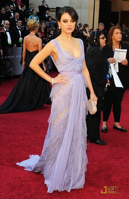 mila kunis BEST&WORST OF THE OSCARS 2011